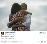 Former Obama Record Retweet